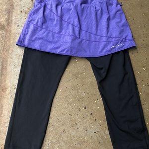 SkirtSports Pants - Skirt Sports skirted leggings❤️